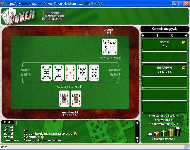 Poker blefe